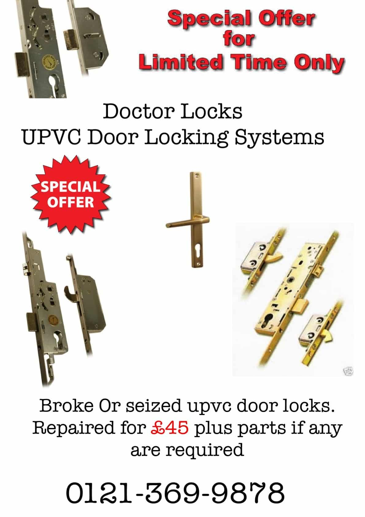Doctor Locks UPVC Door Locking Systems